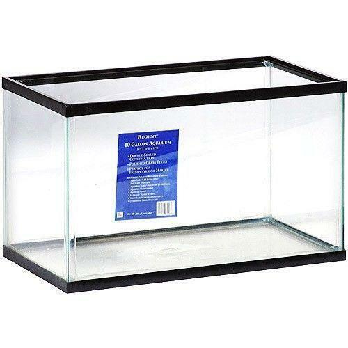 10 gallon fish tank ebay for Acrylic vs glass fish tank