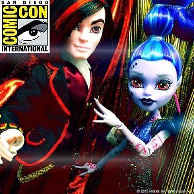 Mattel SDCC 2015 Monster High Villain Valentine & Whisp 2-Pack Doll Set Look! - Monster High Whisp