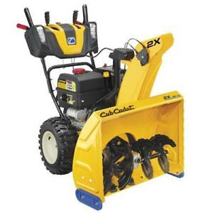 Save $200 on select Cub Cadet snow blowers - only at Blueline New Holland