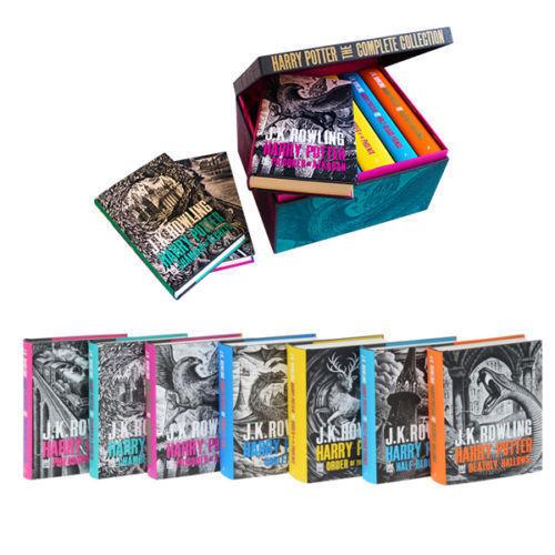 Harry Potter Book Set Target ~ Harry potter hardback boxed books set complete