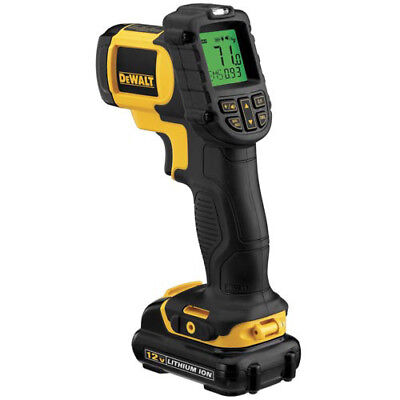 DEWALT 12V MAX Cordless Lithium-Ion Infrared Thermometer Kit DCT414S1 New