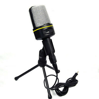 Professional Podcast Studio Microphone Stand Mic For Skype Webcast Youtube Video