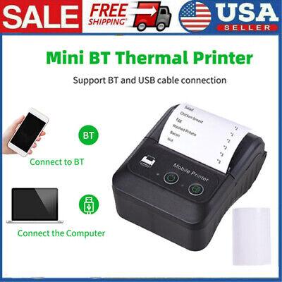 Portable Wireless Bt 58mm 2 Thermal Receipt Printer Escpos Mobile Printer C8t7