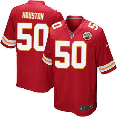 HOUSTON camiseta de la NFL Chiefs color roja.Talla 2XL.