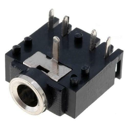 on Female 3 5 Mm Audio Jack Connector