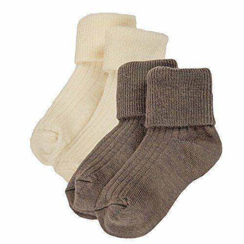 Janus Merino Wool Baby Toddler 2-Pack Socks. Made in Norway