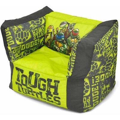 Ninja Turtles Chair Bean Bag Plush Toy Kid Toddler Bedroom Furniture NEW!! KG
