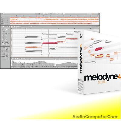 Melodyne Studio - Celemony MELODYNE 4 STUDIO UPGRADE FROM MELODYNE STUDIO 3 Audio Software NEW