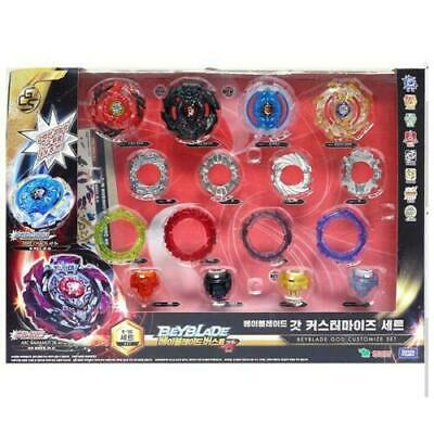 [Takara Tomy] BeyBlade Burst B-98 GOD CUSTOMIZE Set 7s.Z 2B.At 4F.Br 1M.Sp