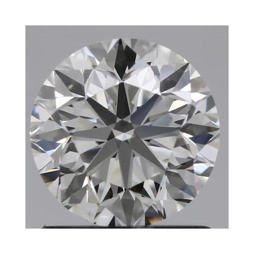 Charles and Colvard 6mm Round Forever One DEF Hearts & Arrows Moissanite wCard