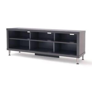 "Prepac BCAL-0508-1  9 Designer 55"" TV Stand, Black (Assembled)"