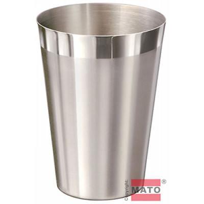 Edelstahl Becher 0,3 l stapelbar Edelstahlbecher Trinkbecher Tasse Pott Krug Bar Krug