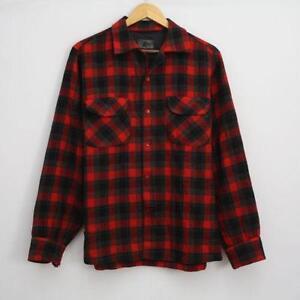 Buffalo plaid shirt ebay for Buffalo plaid men s shirt