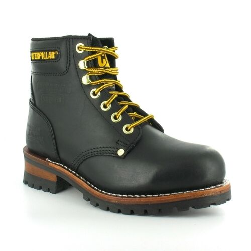 cad965e28c023b CAT Caterpillar Sequoia Steel Toe Cap Mens Work Boots Size 6-13 UK ...