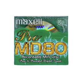Buy 2 Get 1 Free!! Maxell MD80 Pro Minidiscs.
