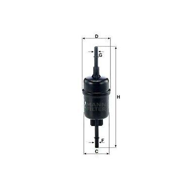 1 Kraftstofffilter MANN-FILTER WK 511/2 passend für FORD MAZDA