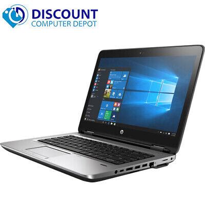 "Laptop Windows - HP Laptop 14"" Elitebook 640 G1 Intel Core i5 8GB 500GB HD Wifi Windows 10 Pro PC"
