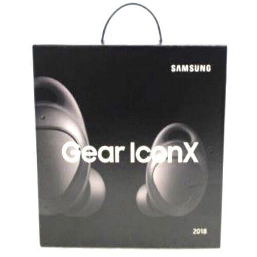 2018 Samsung Gear IconX Bluetooth Cord Free Wireless Earbuds SM-R140 Black
