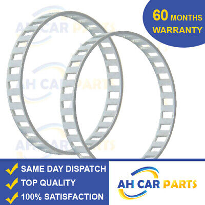 2X ABS RELUCTOR RING FOR JAGUAR X-TYPE 2.0/2.2/2.5/3.0  (01-09) REAR