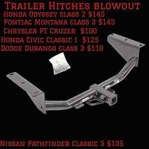 Hitch Mounted Bike Racks and Trailer hitches for sale.