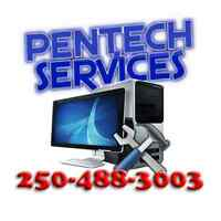 Penticton pickup/in-home computer repair and system maintenance.