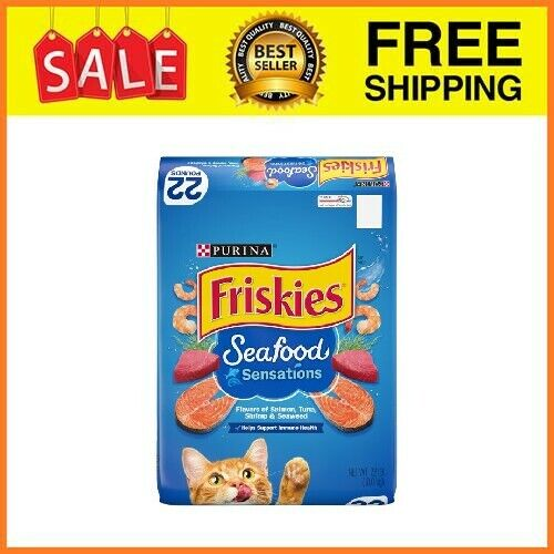 Dry Cat Food, Seafood Sensations - 22 Lb. Bag - $16.35