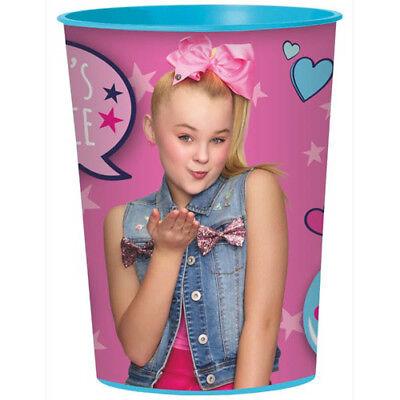 JOJO SIWA Pink REUSABLE KEEPSAKE CUPS (2) ~ Birthday Party Supplies Favors Cute](Pink Cups)