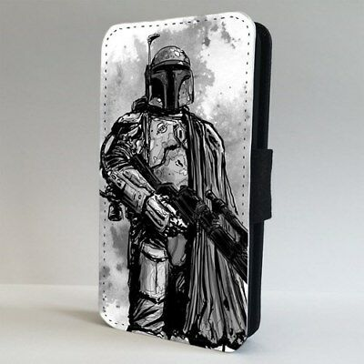 Boba Fett Star Wars Movie FLIP PHONE CASE COVER for IPHONE SAMSUNG