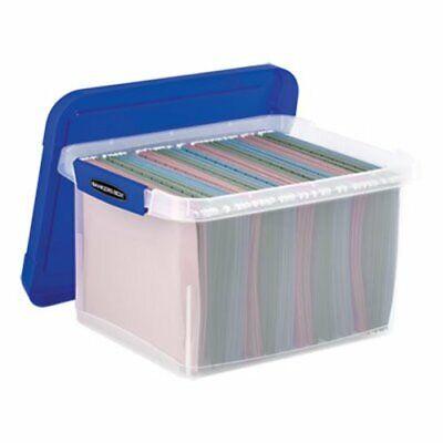 Bankers Box Heavy Duty Plastic File Storage 14-18x17-25x10-35 Fel0086201