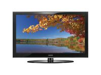 """SAMSUNG TV 50"""" PLASMA BLACK WITH REMOTE AND STAND"""