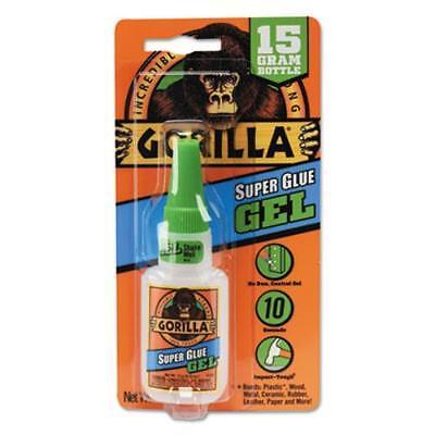 Gorilla Glue Company 7600101 Instant Bond Superglue, 15 G Bottle, Clear