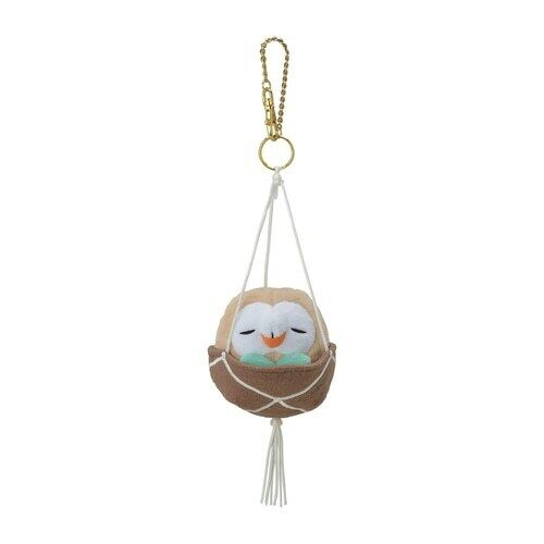 Pokemon Mascot Pokémon Grassy Gardening Rowlet Japan import NEW Pocket Monster