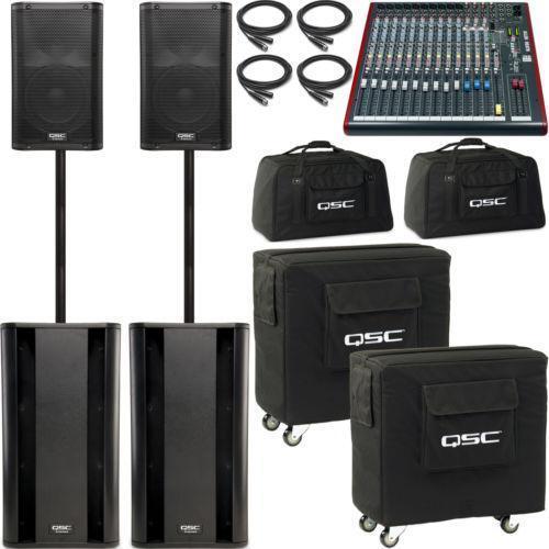 Mixer And Speakers Ebay