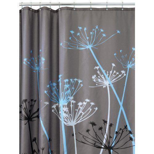 gray shower curtain ebay