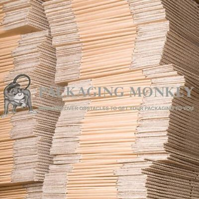 100 x Small Cardboard Mailing Packing Boxes 6x6x6