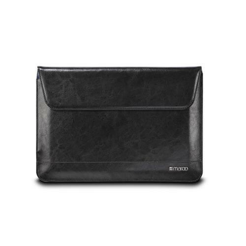 Maroo Tablet Sleeve Case Cover in Premium Leather for Microsoft Surface 3 Black