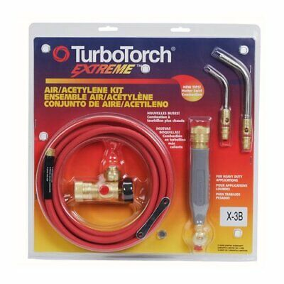 Victor Turbotorch X-3b Torch Kit Swirl For B Tank Air Acetylene 0386-0335