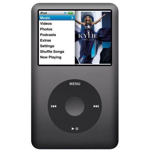 apple ipod classic 160gb 7th generation ebay. Black Bedroom Furniture Sets. Home Design Ideas