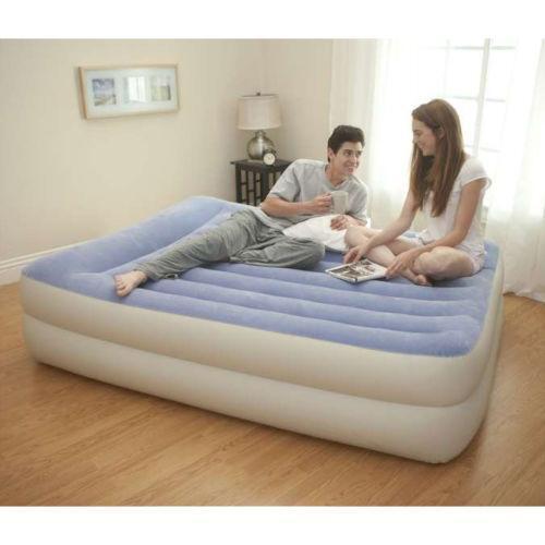 Raised Queen Air Bed Ebay