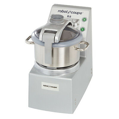 Robot Coupe R8 Food Processor Vertical Cutter-mixer W 8-qt Stainless Steel Bowl