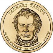 Zachary Taylor Coin