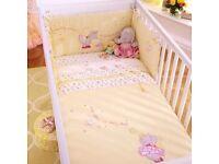 Izziwotnot Princess Primrose Cot Bedding Set