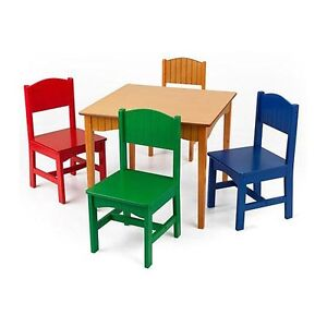 Very Lightly used KidKraft Toddler Table & 4 Chairs (almost new)