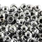 Barrel Metallic Jewellery Beads