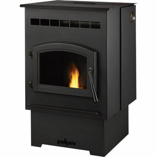 how to clean a castle pellet stove