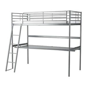 Svarta - Loft bed frame with desk Holden Hill Tea Tree Gully Area Preview