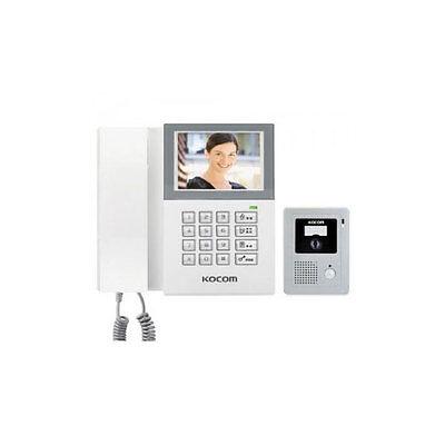 KOCOM Analog Video DoorPhone DirectDial SurfaceMount KCV-340 Door Camera KC-C60