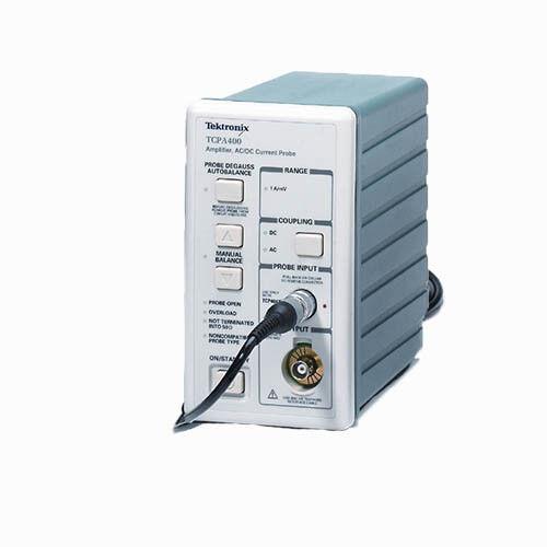 Tektronix TCPA400 AC/DC Current Probe Amplifier, 50MHz DC Req TCP404XL