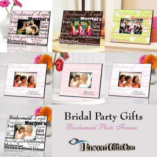 Bridesmaid Picture Frame | eBay