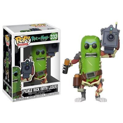 Funko Pop  Animation Rick And Morty Pickle Rick W  Laser 3 75 Inch Vinyl Figure